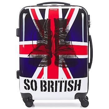 Tašky Pevné cestovné kufre David Jones UNION JACK 53L Viacfarebná