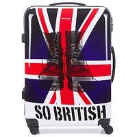Tašky Pevné cestovné kufre David Jones UNION JACK 83L Viacfarebná