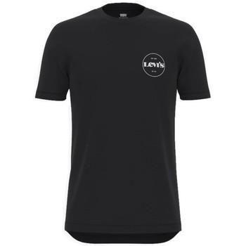 Oblečenie Muži Tričká s krátkym rukávom Levi's Perf Graphic Tee Čierna
