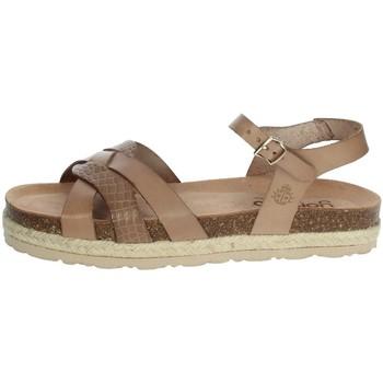 Topánky Ženy Sandále Yokono JAVA-152 Brown Taupe