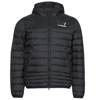 Oblečenie Muži Vyteplené bundy Emporio Armani EA7 MOUNTAIN M DOWN Čierna