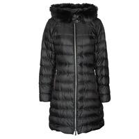 Oblečenie Ženy Vyteplené bundy MICHAEL Michael Kors ECO LONG PERFMNC PUFFER Čierna