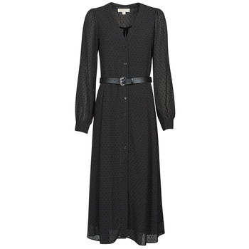 Oblečenie Ženy Dlhé šaty MICHAEL Michael Kors CRINKLE DOTS KATE DRS Čierna