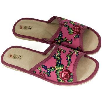 Topánky Ženy Papuče John-C Dámske ružové papuče ALMA ružová