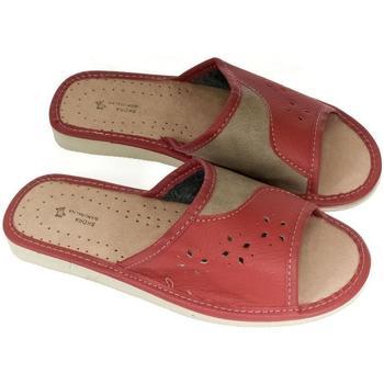 Topánky Ženy Papuče John-C Dámske červené papuče MARGA červená