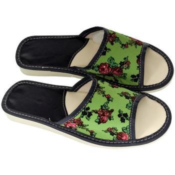 Topánky Ženy Papuče John-C Dámske zelené papuče DAWA zelená