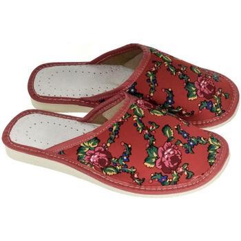 Topánky Ženy Papuče John-C Dámske červené papuče MEGAN červená