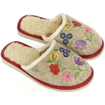 Topánky Ženy Papuče John-C Dámske béžové papuče KAREN béžová
