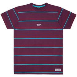 Oblečenie Muži Tričká s krátkym rukávom Jacker Rtk stripes Fialová