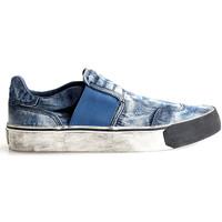 Topánky Muži Slip-on Diesel  Modrá