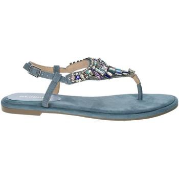 Topánky Ženy Sandále Menbur 22327 Blue Avio