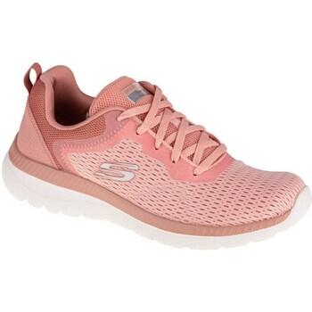 Topánky Ženy Fitness Skechers Bountiful Quick Path Ružová
