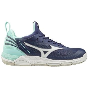 Topánky Ženy Fitness Mizuno Wave Luminous W Tmavomodrá, Tyrkysová