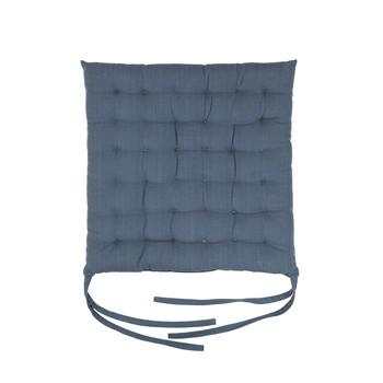 Domov Podložky na stoličky Broste Copenhagen AVA Modrá / Mirage