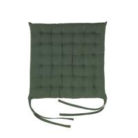 Domov Podložky na stoličky Broste Copenhagen AVA Zelená smaragdová