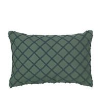 Domov Obliečky na vankúše Broste Copenhagen MAGNE Zelená smaragdová
