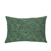 Domov Obliečky na vankúše Broste Copenhagen MUSHROOM Zelená / Zelená smaragdová