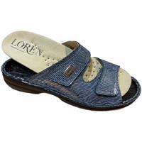 Topánky Ženy Šľapky Calzaturificio Loren LOM2829sjeans blu