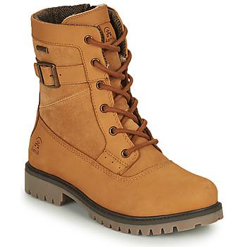 Topánky Ženy Polokozačky KAMIK ROGUE MID Ťavia hnedá