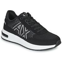 Topánky Muži Nízke tenisky Armani Exchange MALIKA Čierna / Biela