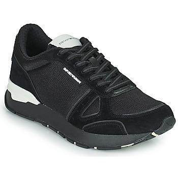Topánky Muži Nízke tenisky Emporio Armani BALISTA Čierna