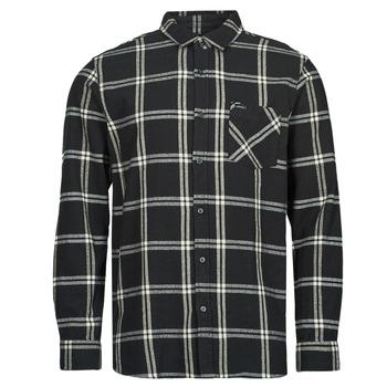 Oblečenie Muži Košele s dlhým rukávom Rip Curl CHECKED OUT L/S FLANNEL Čierna