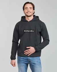 Oblečenie Muži Mikiny Rip Curl VAPORCOOL HOOD Čierna / Frkaná