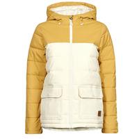Oblečenie Ženy Vyteplené bundy Rip Curl ANTI SERIES RIDGE JACKET Béžová / Žltá horčicová