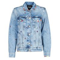Oblečenie Ženy Džínsové bundy Desigual JULIETA Modrá