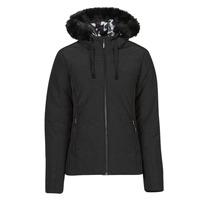 Oblečenie Ženy Vyteplené bundy Desigual SNOW Čierna