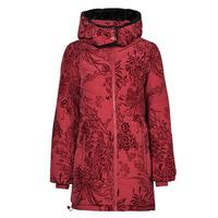 Oblečenie Ženy Vyteplené bundy Desigual JAPAN Červená