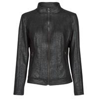 Oblečenie Ženy Kožené bundy a syntetické bundy Desigual COMARUGA Čierna