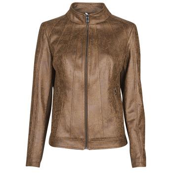 Oblečenie Ženy Kožené bundy a syntetické bundy Desigual COMARUGA Hnedá