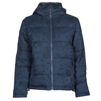 Oblečenie Ženy Vyteplené bundy Desigual STELLAR Námornícka modrá