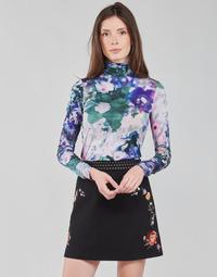 Oblečenie Ženy Tričká s dlhým rukávom Desigual INAYA Viacfarebná