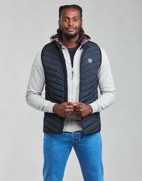 Oblečenie Muži Vyteplené bundy Oxbow N2JELKOR Námornícka modrá