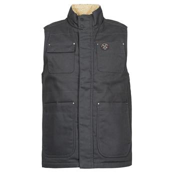 Oblečenie Muži Vyteplené bundy Oxbow N2JOMBAYO Šedá