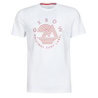 Oblečenie Muži Tričká s krátkym rukávom Oxbow N2TOMSK Biela