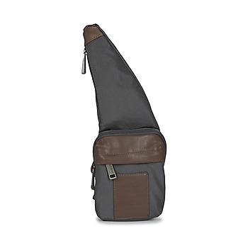 Tašky Muži Vrecúška a malé kabelky Arthur & Aston 2021-07-G Hnedošedá