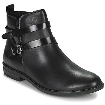 Topánky Ženy Polokozačky Marco Tozzi KARIMA Čierna