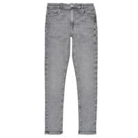 Oblečenie Dievčatá Rifle Skinny  Pepe jeans PIXLETTE HIGH Šedá