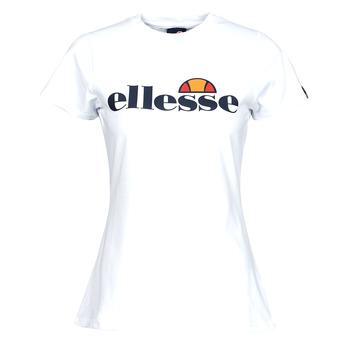 Oblečenie Ženy Tričká s krátkym rukávom Ellesse HAYES SLIM Biela