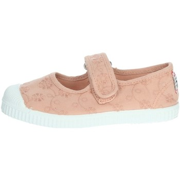 Topánky Dievčatá Balerínky a babies Cienta 76998 Light dusty pink