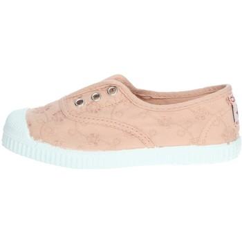 Topánky Dievčatá Tenisová obuv Cienta 70998 Light dusty pink