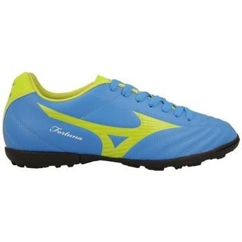 Topánky Muži Futbalové kopačky Mizuno Fortuna 4 AS Modrá, Pastelová zelená