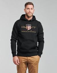 Oblečenie Muži Mikiny Gant ARCHIVE SHIELD HOODIE Čierna