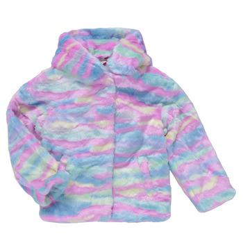 Oblečenie Dievčatá Kabáty Desigual CONGO Viacfarebná