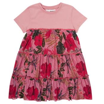 Oblečenie Dievčatá Krátke šaty Desigual ZAFIRO Ružová