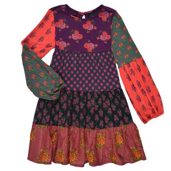 Oblečenie Dievčatá Krátke šaty Desigual CELIA Viacfarebná