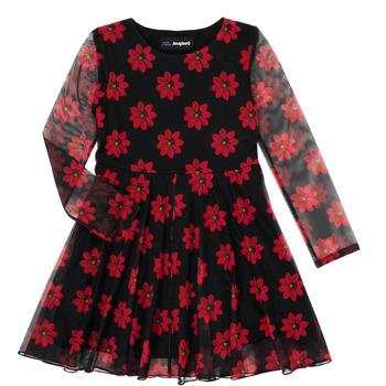Oblečenie Dievčatá Krátke šaty Desigual ALICIA Viacfarebná